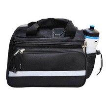Cycling Bicycle Bike Pannier Rear Seat Bag Rack Trunk Handle Handbag Storage free shipping