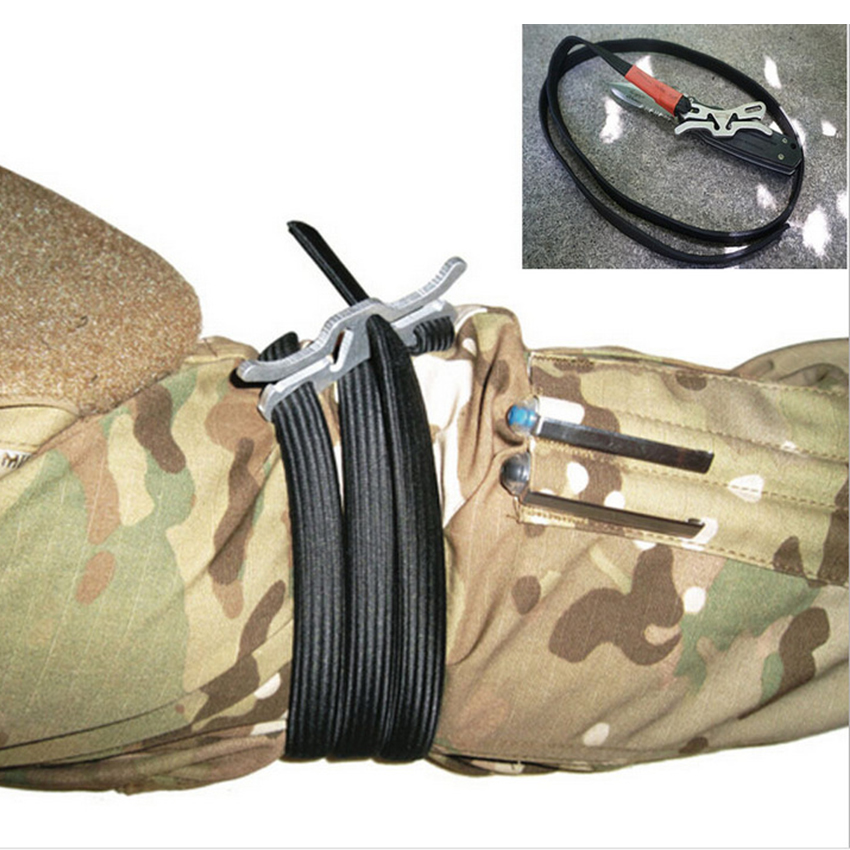 Bandage Kit Tools Camping Tourniquet Medical Survival Medical Essential Outdoor Equipment Military Combat Tactical Belt