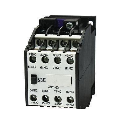 24V 50Hz 29V 60Hz Coil 5NO 3NC Auxiliary Contactor Relay JZC1-53 tp760 765 hz d7 0 1221a