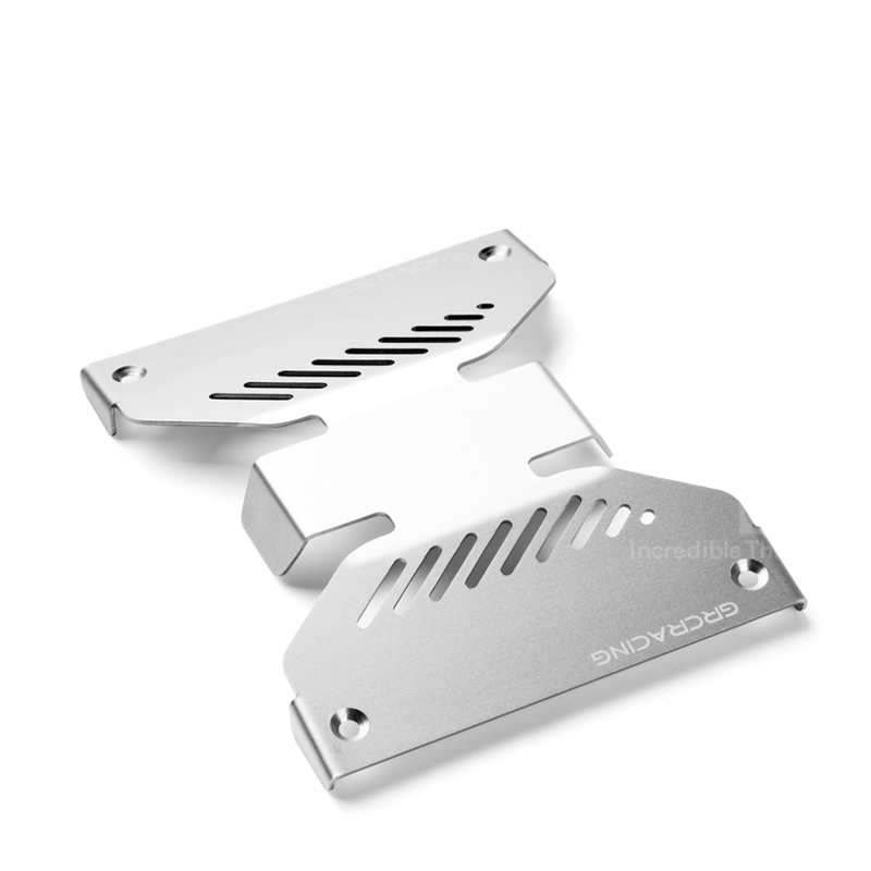 1PC VS4 Stainless Steel Chassis Armor VP VS4-10 Steel Side Body Protective Guard Shield for RC Cars Modified Accessories