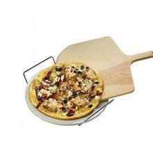 ملعقة بيتزا خشبية طبيعية 12 بوصة/14 بوصة للخبز محلية الصنع للبيتزا والخبز