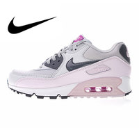 Nike Air Max 90 Women's Running Shoes Outdoor Sneakers Shoes, Pink, Abrasion Breathable Resistant Shock Absorption 616730 112