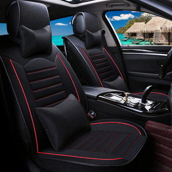 WLMWL Universal Leather Car seat cover for Dodge all models caliber journey caravan aittitude car styling accessories Car seat