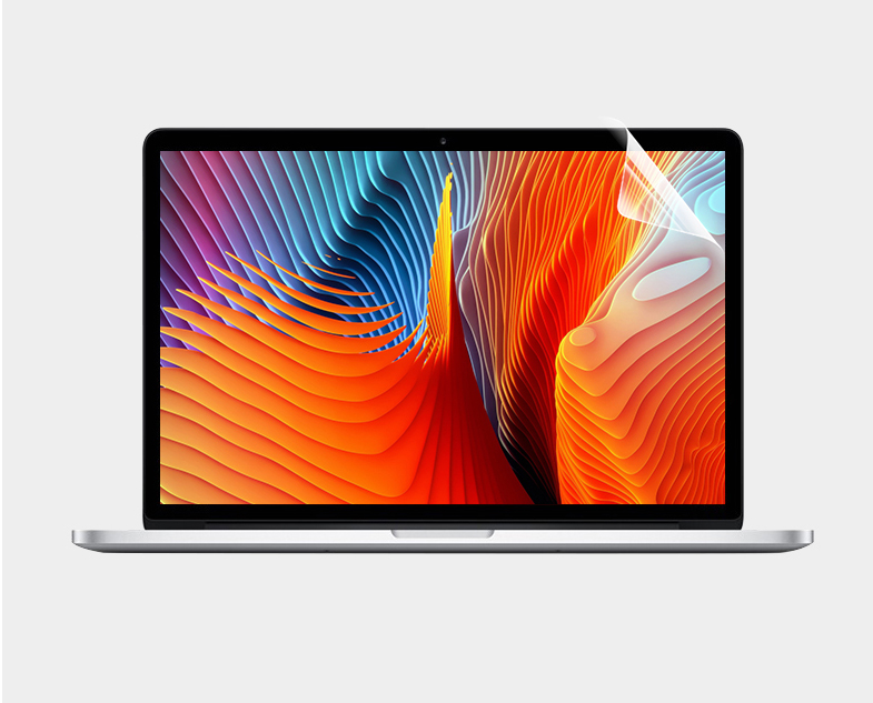 US $4 99 |Anti Fingerprint Screen film Protector For Apple Macbook Pro 13  Touch Bar A1989 A1706 A1708 Crystal Clear Lcd Guard Film on Aliexpress com  |