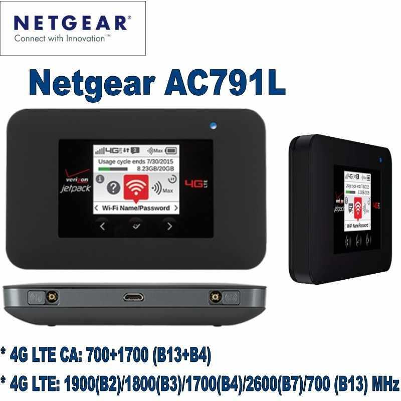 NETGEAR AC791L Verizon Wireless Hotspot Di Động 4G LTE netgear ...