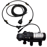 S061 ENTENCO Watering & Irrigation 12V Diaphragm Fine Sprayers with Misting Fan Ring Kit For Cooling