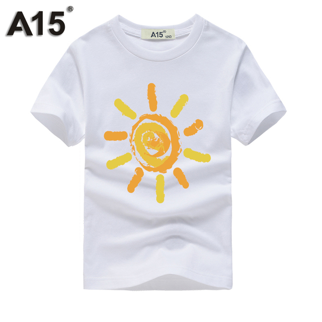 A15 T Shirt Kids Branded Summer Top Girls 2018 Kids Boy T shirts for  Children Clothing 6 8 10 12 Year Birthday Outfits Tee Shirt aa02b16506