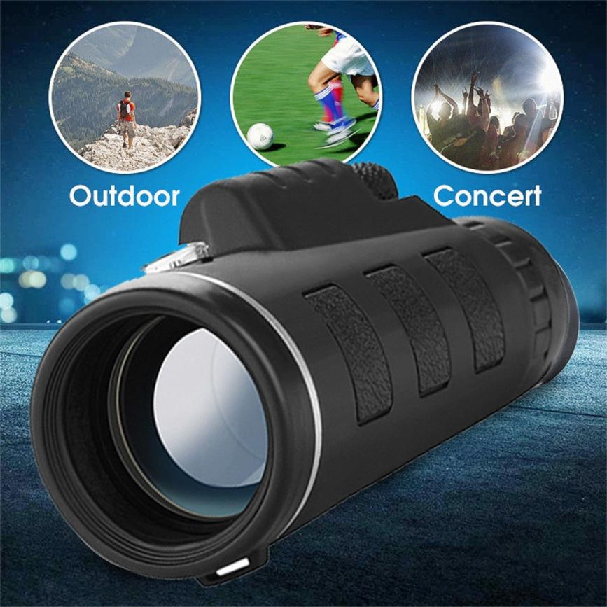 HD 40x60 Optical Zoom Telescope Camera Lens Clip Mobile Phone Telescope phone Lens With Clip For Phone Universal dropship 7.20 12x optical zoom telescope camera lens w back case for samsung galaxy note 2 n7100 silver black