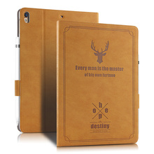 For IPad Air 3 Air3 2019 10 5 Inch Case Retro Deer Pattern Smart Stand Cover