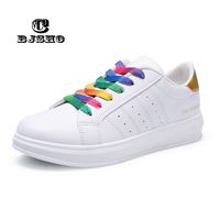 CBJSHO New White Vulcanize Shoes Women Cotton Fabric Casual Shoes Female Low Flat Ladies Shoes Sneakers