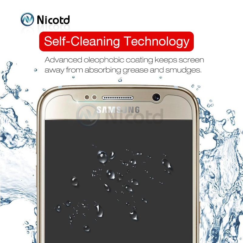 Nicotd 9H Clear Tempered Screen Protector Glass Film For Samsung Galaxy Models 11