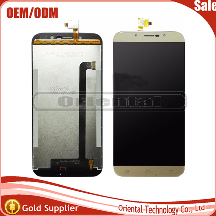 ФОТО Black/Gold For UMi Rome X LCD Display Touch Screen Digitizer Assembly Replacement for umi rome x lcd screen