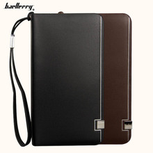 2019 Baellerry Long Men Wallets Card Holder Soft Large Capacity Wallet For Phone Coin Pocket Male Purse