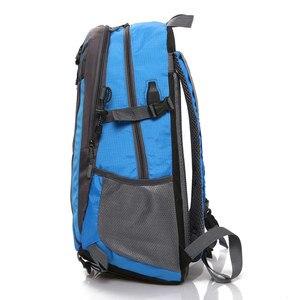 Image 5 - 35L Männer Nylon Wasserdicht Unisex Outdoor Bergsteigen Wandern Klettern Camping Rucksäcke sport Unisex taschen reisetasche für männliche