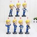 15cm Fallout 4 Vault Boy PVC Action Figure toys 7 styles Game heads fallout 4 vault boy bobbleheads series toy