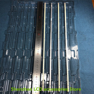 Image 5 - 4Pieces/lot   For Toshiba 40BF1C LCD backlit TV lamp strip LJ64 02267A/02268A with screen LTA400HF16    56LED   453MM