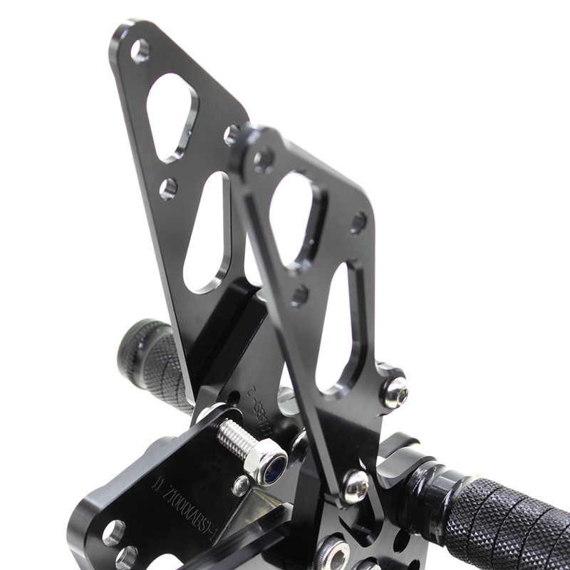 For Kawasaki Z1000 ABS 2011 2016 Motorcycle Rear Set Accessories CNC Adjustable Rearset Foot Pegs Z1000 Foot Rests Footpegs in Foot Rests from Automobiles Motorcycles