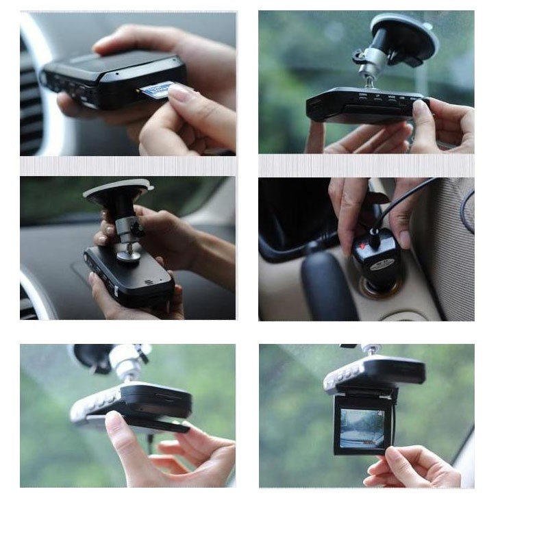 2.5 Inch TFT Car DVR with 6 LED Lights Auto Car Camera Video Recorder Dash Cam Motion Detection Night Vision G-Sensor 18