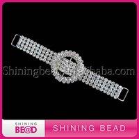 FREE SHIPPING! ring rhinestone bikini connector for sale,wholesale rhinestone connector for swimwear