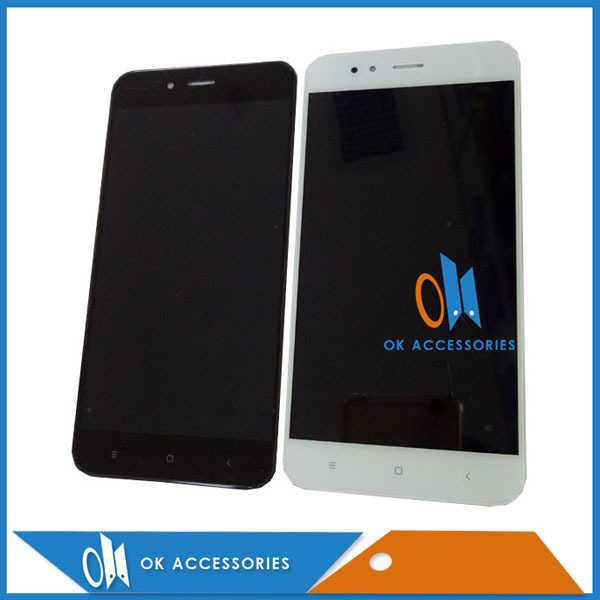 High Quality 5.5 Inch For Xiaomi MI 5X A1 LCD Display With Touch Screen Assembly Black White Color 1PC/Lot