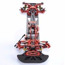 3 цвета 1:10 4WD Drift красный сплав углеродного волокна RC гоночный автомобиль привод Shft рамка Комплект Hotsa RC гоночный автомобиль аксессуары