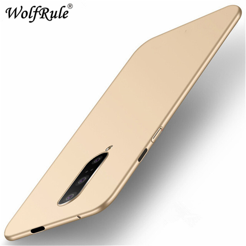 Case For Oneplus 7 Cover For Oneplus 7 Pro Case Funda Ultra thin Slim Smooth Back Protection Plastic PC Case For Oneplus 7 7 Pro in Fitted Cases from Cellphones Telecommunications