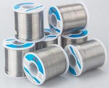 Alambre de soldadura de alta calidad, alta pureza, sin limpieza, baja temperatura que contiene Flujo de colofonia 0,8mm 800g DIY soldadura especial