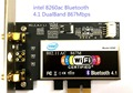 intel 8260ac  8260 wifi card bluetooth  867M dualband 802.11a/b/g/n/ac wireless wlan card