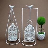 2017 Hanging Bird Cage Candle Tea Light Holder