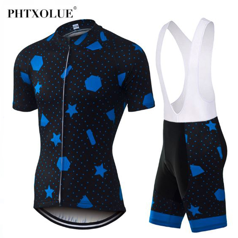 Phtxolue Pro Cycling Set MTB Bike Jerseys Racing Bicycle Clothes Clothing Maillot Ropa Ciclismo
