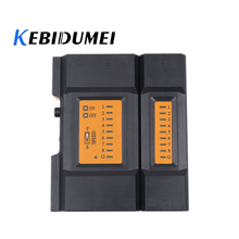 kebidumei Network Cable Tester Detector Verify CY-468A Mini Pro Network Cable Tester LAN Tester Detector Telephone Cables