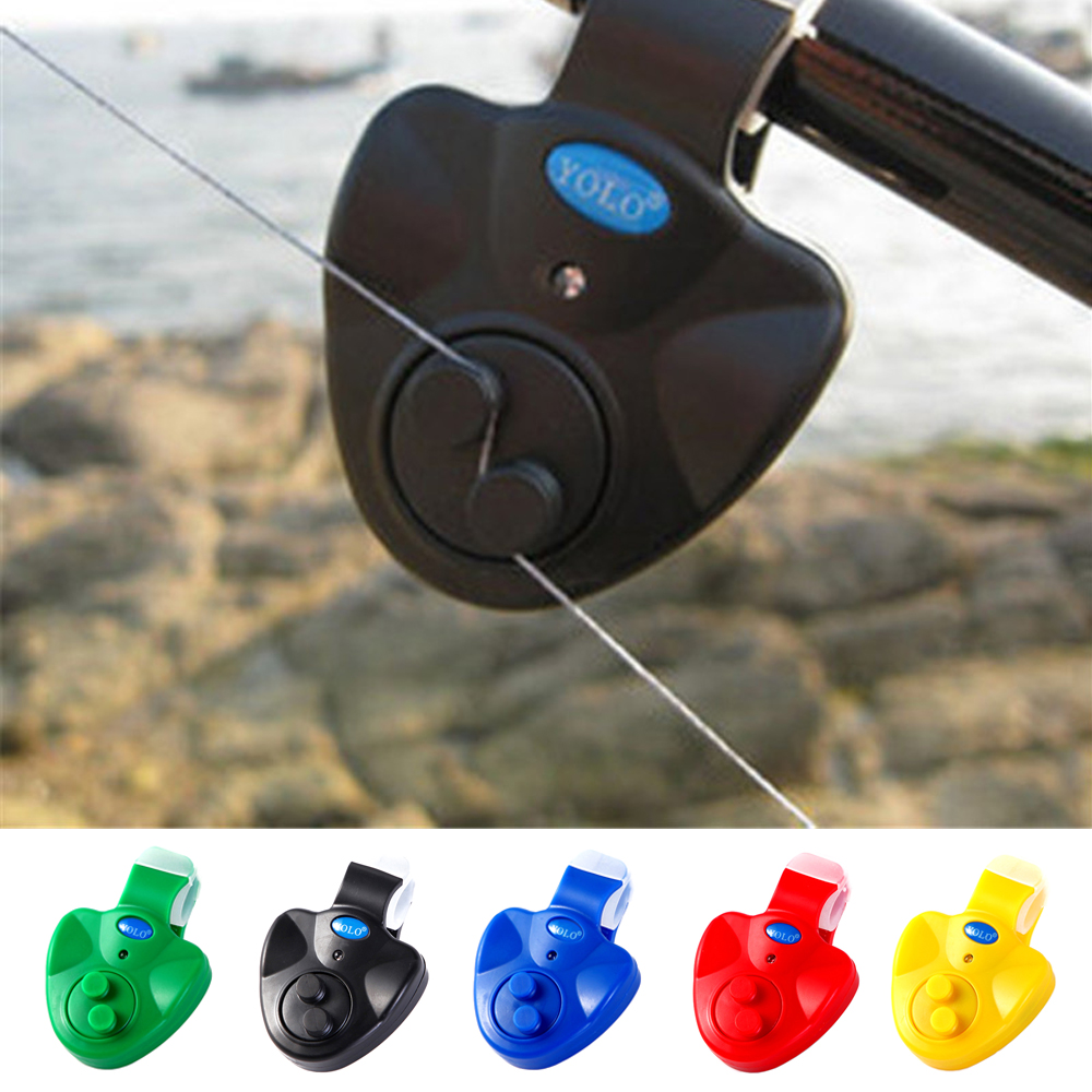 Fishing Bite Alarms New LED Light Fishing Line Gear Alert Indicator Buffer Fishing Supplies Fishing Lovers Drop Free Shipping