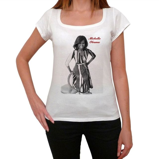 058bc194 Michelle Obama Tshirt Women's T shirt-in T-Shirts from Women's ...