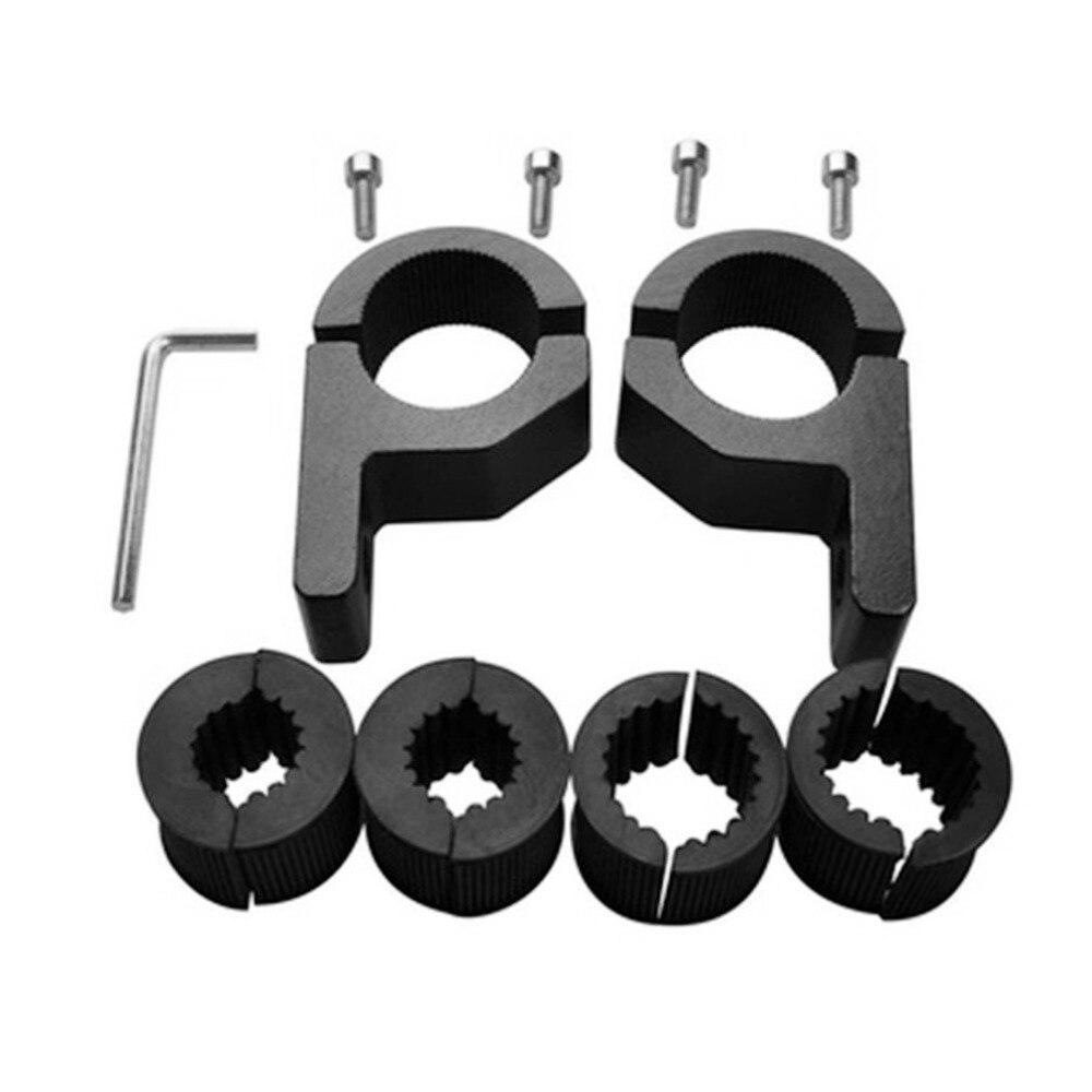 2 шт. Универсальное крепление 15-30 мм кронштейн для противотуманных фар держатель для прожектора зажим Кронштейн для автомобиля мотоцикла аварийный бар Защита