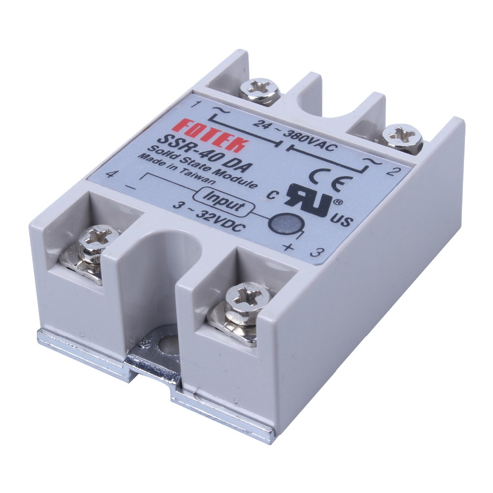 New Hot Digital 220V PID REX-C100 Temperature Controller + max 40A SSR + K  Thermocouple PID Controller Set + Heat Sink