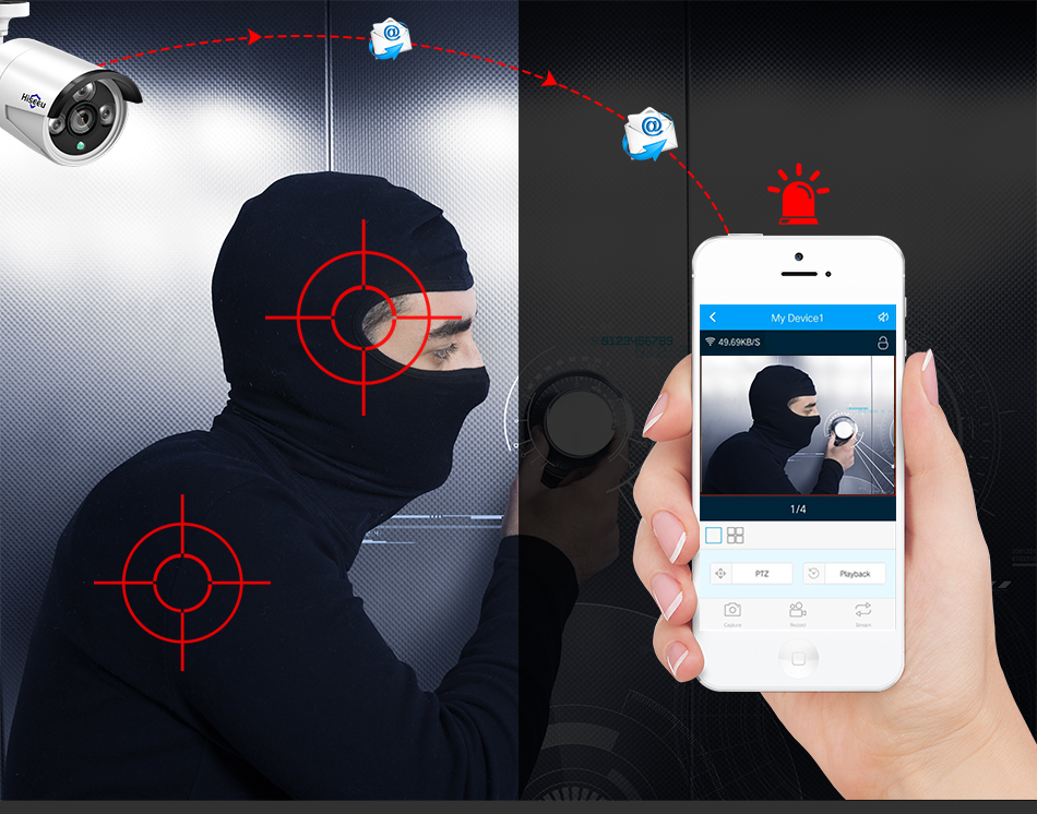 Hiseeu 8CH Wireless CCTV Security System 18