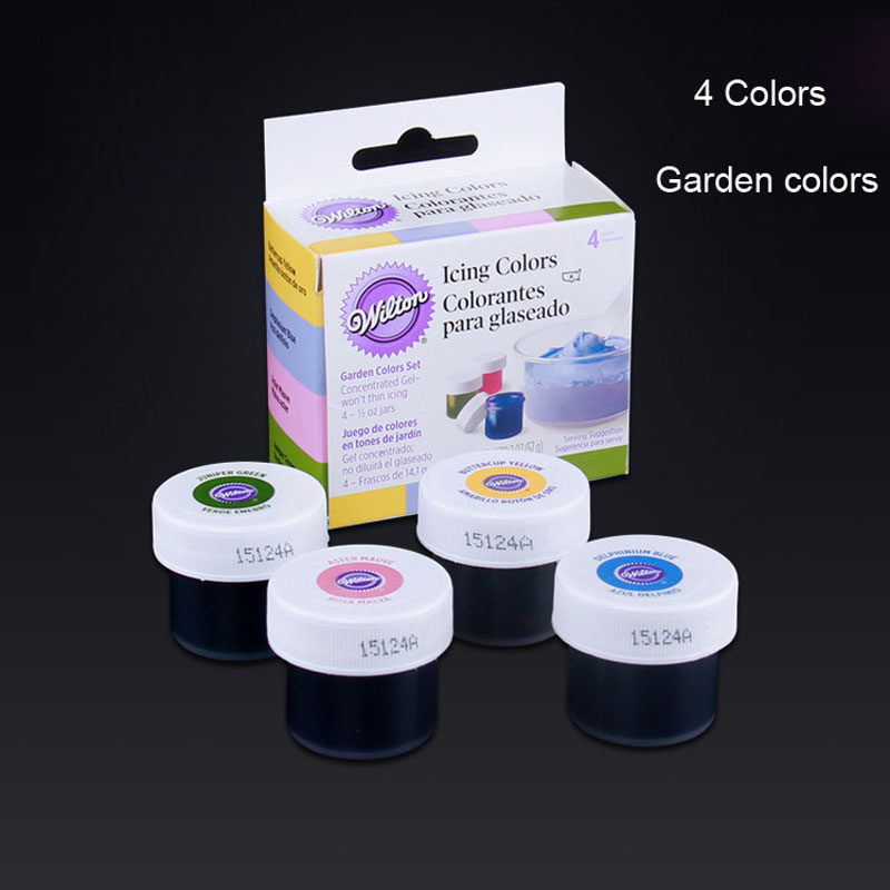 48 colors america wilton double sugar cake pigment color paste food baking colorant m2140 on aliexpresscom alibaba group - Colorant Wilton