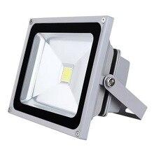 Hot sale 20W 30W 50W 100W AC 220V outdoor LED flood light waterproof IP65 lamps garden street spotlight diode projection