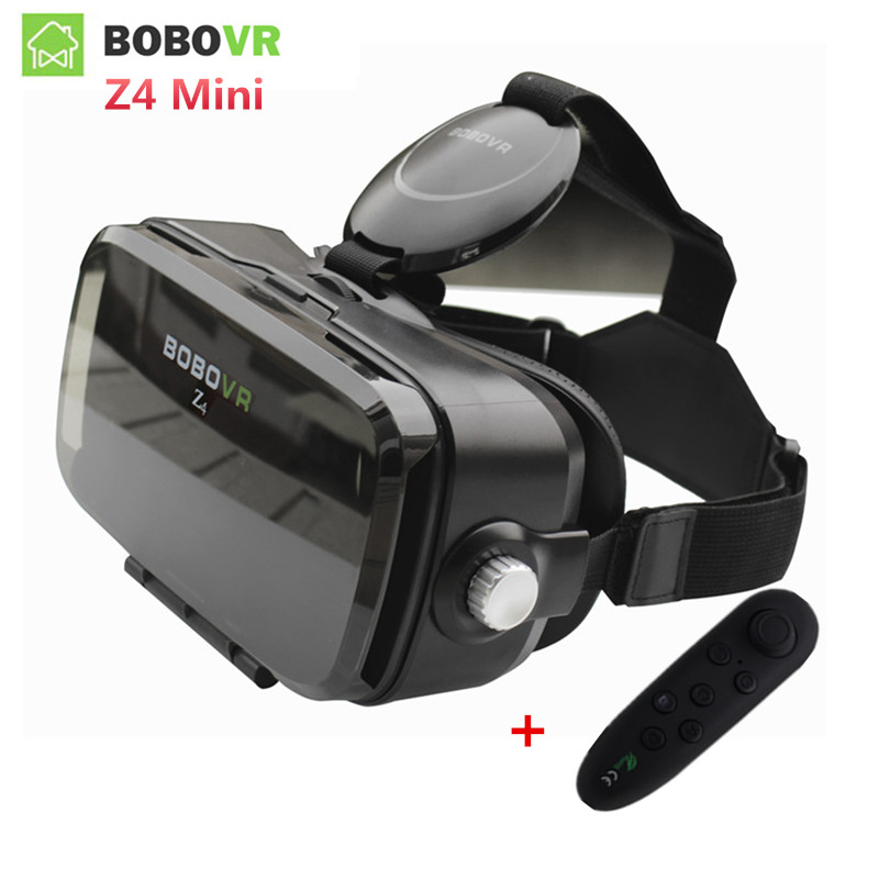 Original Bobovr Z4 Mini Vr 3D Video Glasses Bobo VR Box 2.0 Helmet Virtual Reality Goggles vr Headset for 4.7-6.2 Smartphone original bobovr z4 leather 3d cardboard helmet virtual reality vr glasses headset stereo box bobo vr for 4 6 mobile phone