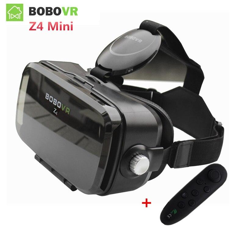Originale bobovr z4 mini vr 3d video vetri bobo vr Box 2.0 Casco Occhiali di Realtà Virtuale vr Auricolare per 4.7-6.2