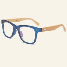 d0b94d87a0 Personalidad diseño de bambú Gafas Marcos s mujeres hombres madera original  ojo Gafas hecho a mano clásico gafas miopía óptica M..