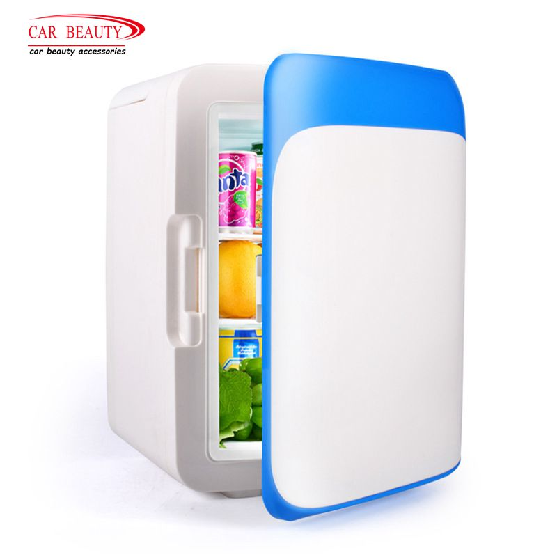 12V 10L Mini Car Fridge Portable Auto&Home Dual Use Travel Refrigerator Cooler Freezer Warmer Cooling Box Accessories