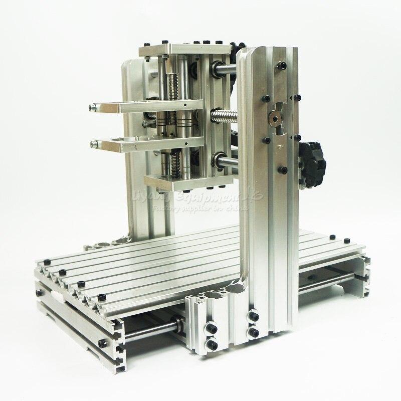 Алюминиевая рамка для ЧПУ комплект 3020 3040 6030 6020 4020 DIY фрезерный станок с ЧПУ сетка гравировальной машины