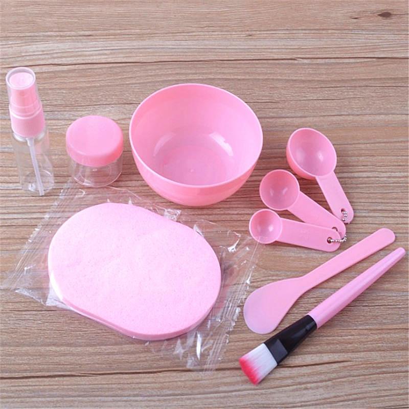 9 in 1 DIY Mixing Bowl Facial Mask Brush Spoon Stick Beauty Make up Set For Facial Mask Tools Makeup Tool Kits Facial Care 4