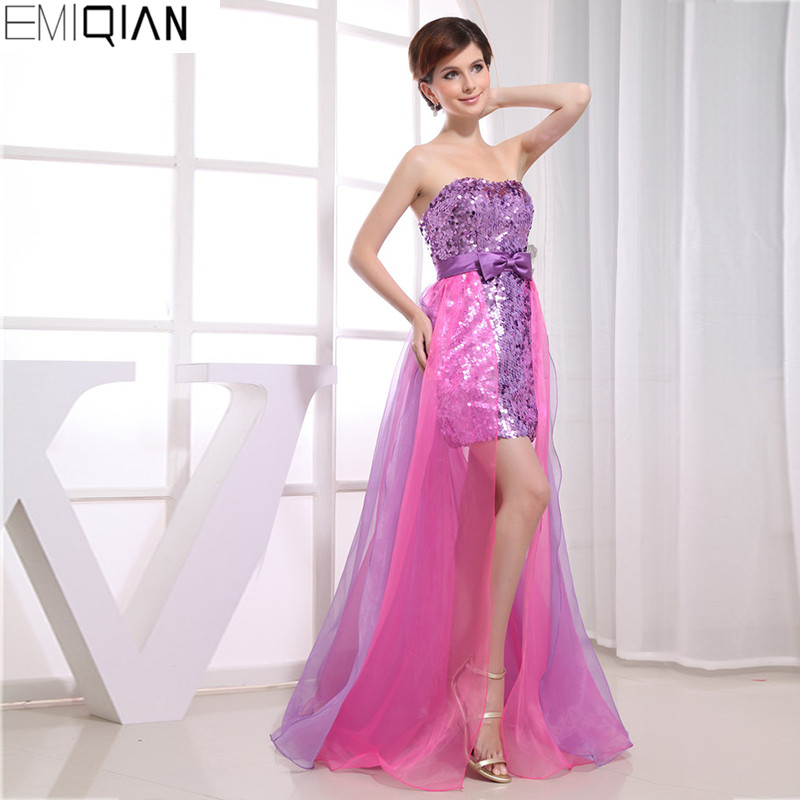 Online Get Cheap Purple High Low Dresses -Aliexpress.com | Alibaba ...