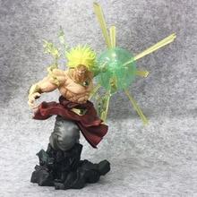 Tronzo Action Figure Dragon Ball Super Saiyan Goku Broly PVC Figure Action Model Toys Dragon Ball Z The Burning Battles Figurine