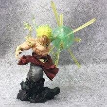 Экшн фигурка Tronzo Dragon Ball Super Saiyan Goku Broly, фигурка из ПВХ, Игрушечная модель Dragon Ball Z, фигурка сражений