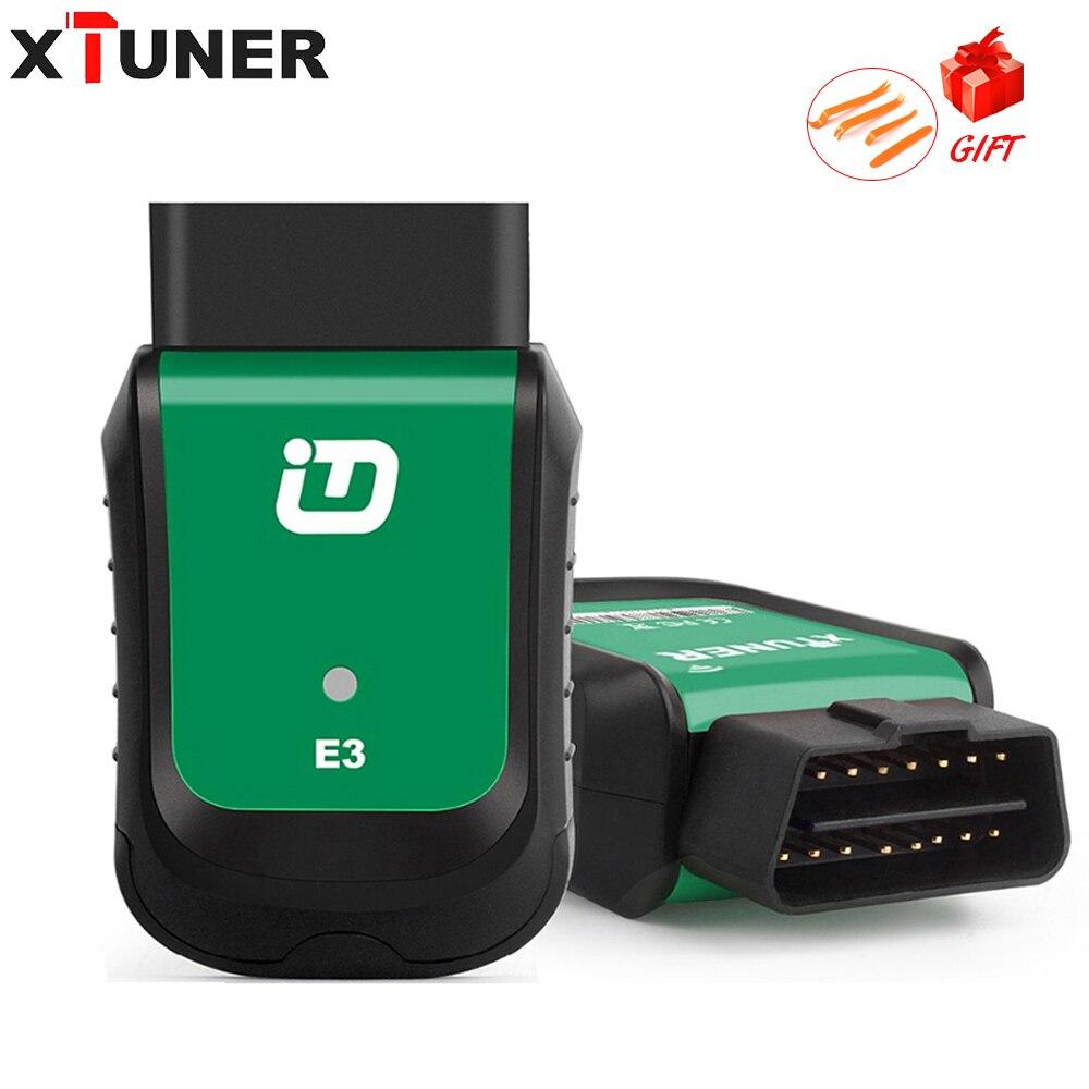 Original XTUNER E3 V10.7 OBD2 Wifi Full System OBDII Auto Diagnostic Scanner Apoio 23 tipos língua Melhor Do Que Vpecker