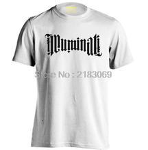 ILLUMINATI AMBIGRAM CONSPIRACY Mens & Womens Personalized Fashion Cotton T Shirt