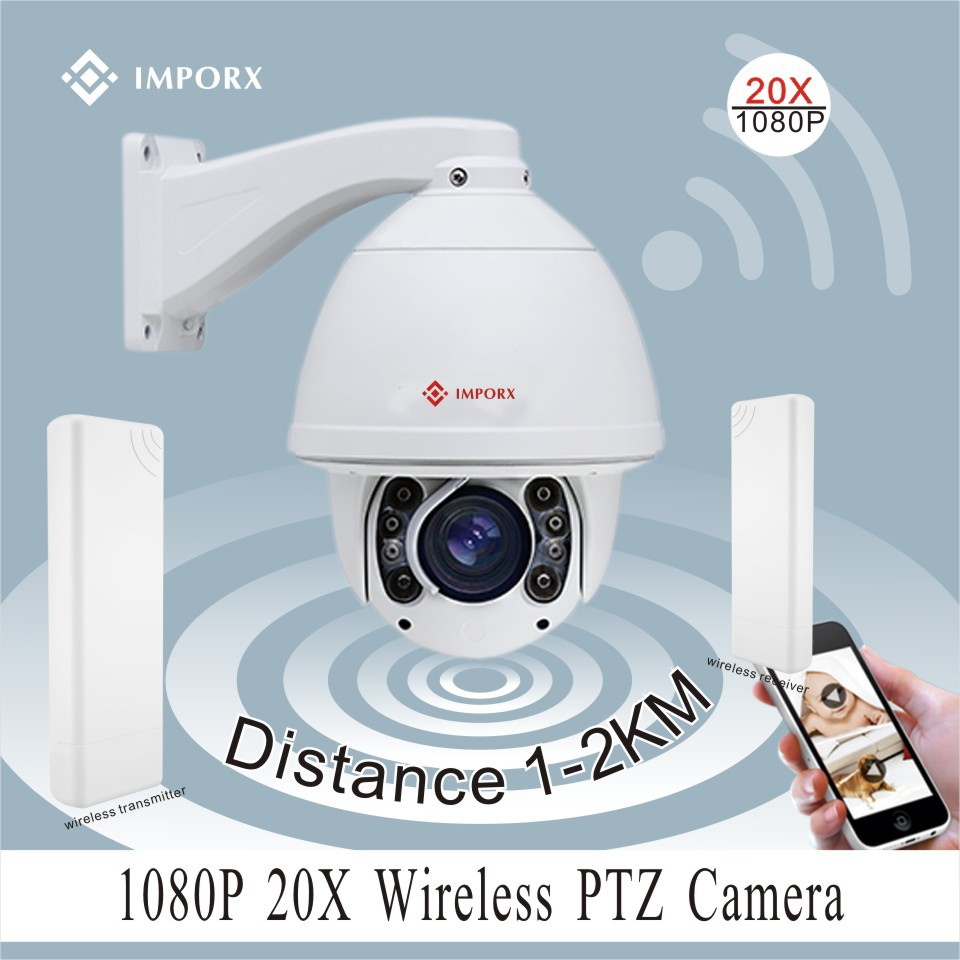 20x hd 1080p ir outdoor ptz wifi wireless ptz ip camera - Camera ip wifi exterieur hd ...